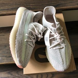 Adidas Yeezy Boost 350 V2 color is Citrin
